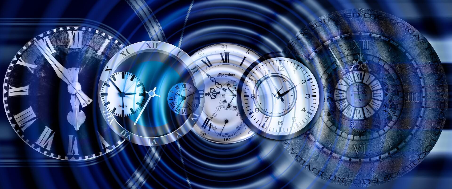 horloges hypnotiques